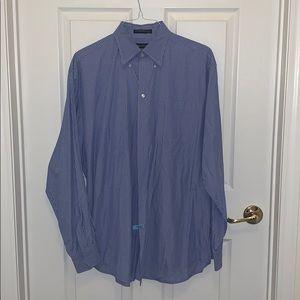 Nautic - men's striped dress shirt size 17 36/37